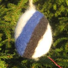 Vilditud sini-must-valge kitsepiimaseep 50 - 70 g